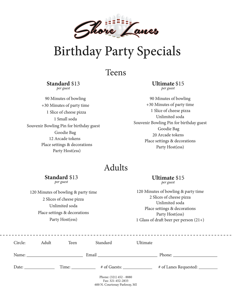 Teens:Adults Birthday Flyer2